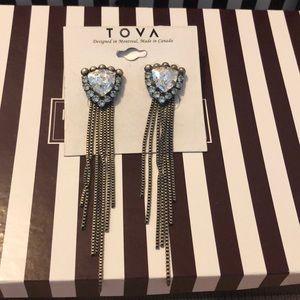 Tova Earrings for Henri Bendel NWT
